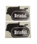Bristol 10 Tractor Tank Stickers x 2 (very early type)